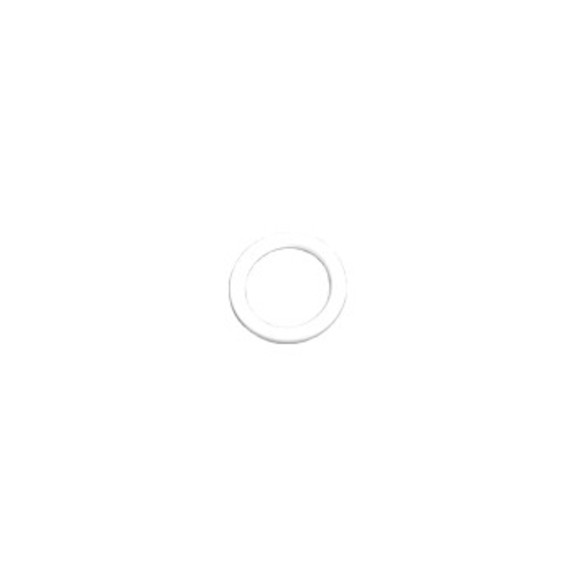 0-160-CA-01300   Roman-12mm Plastic Cord Ring White