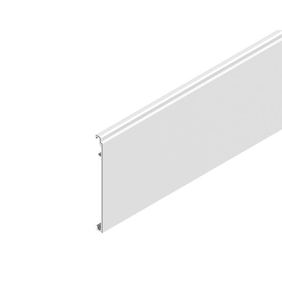 "0-181-CA-00000 | 3"" Alum. Valance for Sliding Panels & MX93/MATRIX"