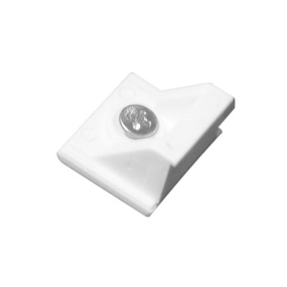 0-181-CA-01300 | Sliding Panel Bracket Angle - White