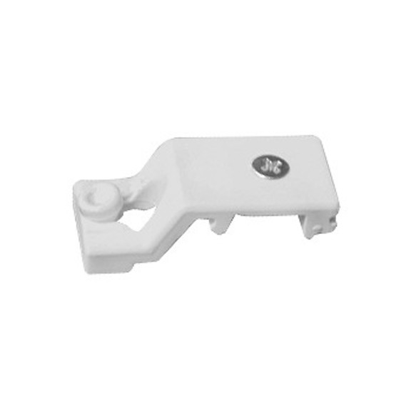 0-181-CA-01800 | Sliding Panel Single Support With Screw - White