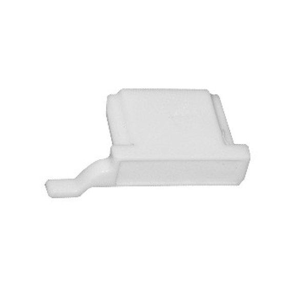 0-181-CA-01900   Sliding Panel End Plug, Right - White