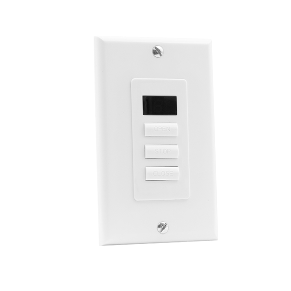 6-700-AT-C1W01 | VTi® Celtic RF Wireless Wall Switch 1 Channel
