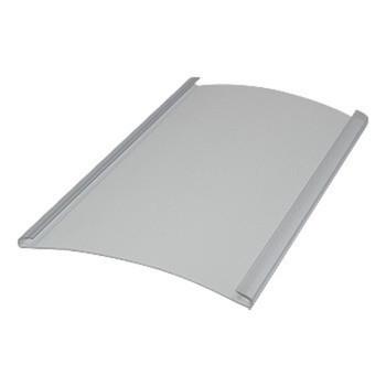 0-020-PV-07X00 | PVC Channel Panel , Clear Edge 16'