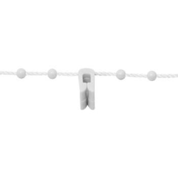 0-030-CH-01X00   Plastic Chain & Plastic Clip - Metal Weights