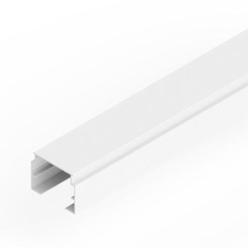 0-040-AL-001XX | MX93/MATRIX Aluminum Square/Flat Track for Vertical Blinds