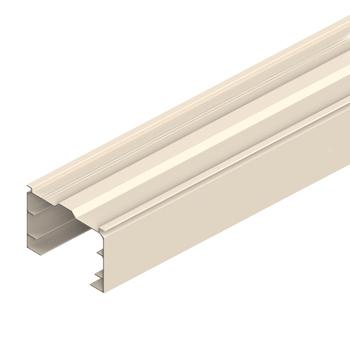 "0-040-AL-TXXXX   Aluminum Track ""V"" Top for Vertical Blinds"
