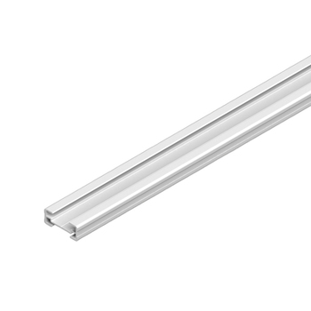 0-112-04-02X00 | Aluminum Middle Rail | Day Night Configuration - White