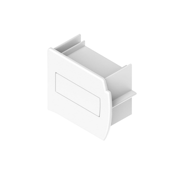 0-112-04-040X0 | Headrail Plastic End Cap - White