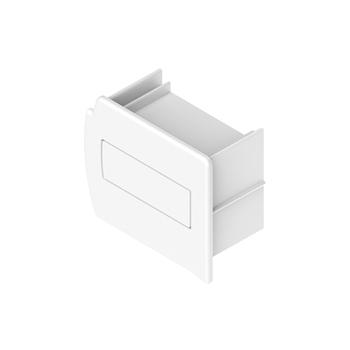 0-112-04-040X0 | Headrail Plastic End Cap - White