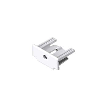 0-112-04-06X00 |  Plastic End Cap for Bottom Rail - White