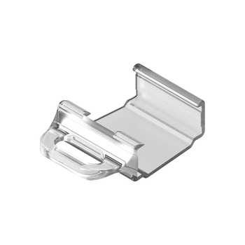 0-112-04-20X10   Plastic Handle for Bottom Rail (Cordless System) - Clear