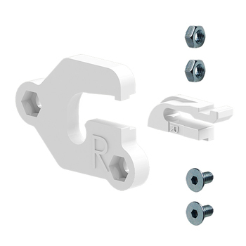 0-154-PS-ES0RX   Euro Idler End Support Set for Right Side