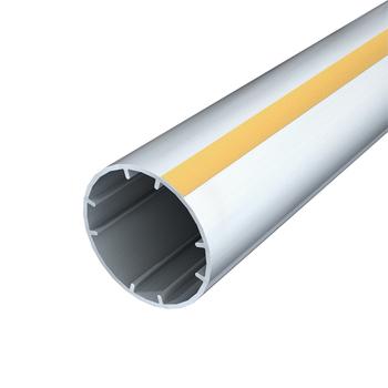 "0-154-TU-501XX | 2"" (50 mm) Grooved Aluminum Tube"