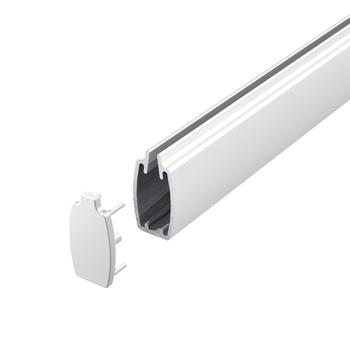 0-159-AL-0002X   Neolux Aluminum Bottomrail I