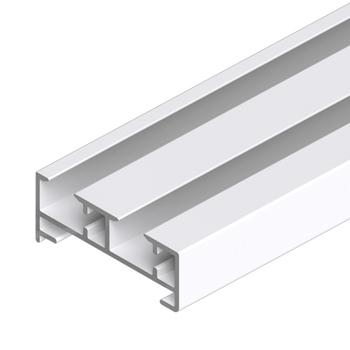 0-181-CA-0020X | Sliding Panel 2 Channel Aluminum Track