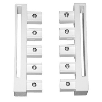 0-181-CA-0110X | Sliding Panel 5 Channel Guide Left/Right